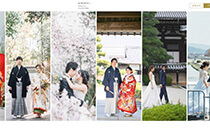 ENISHI PHOTO WEDDING様サイト実績